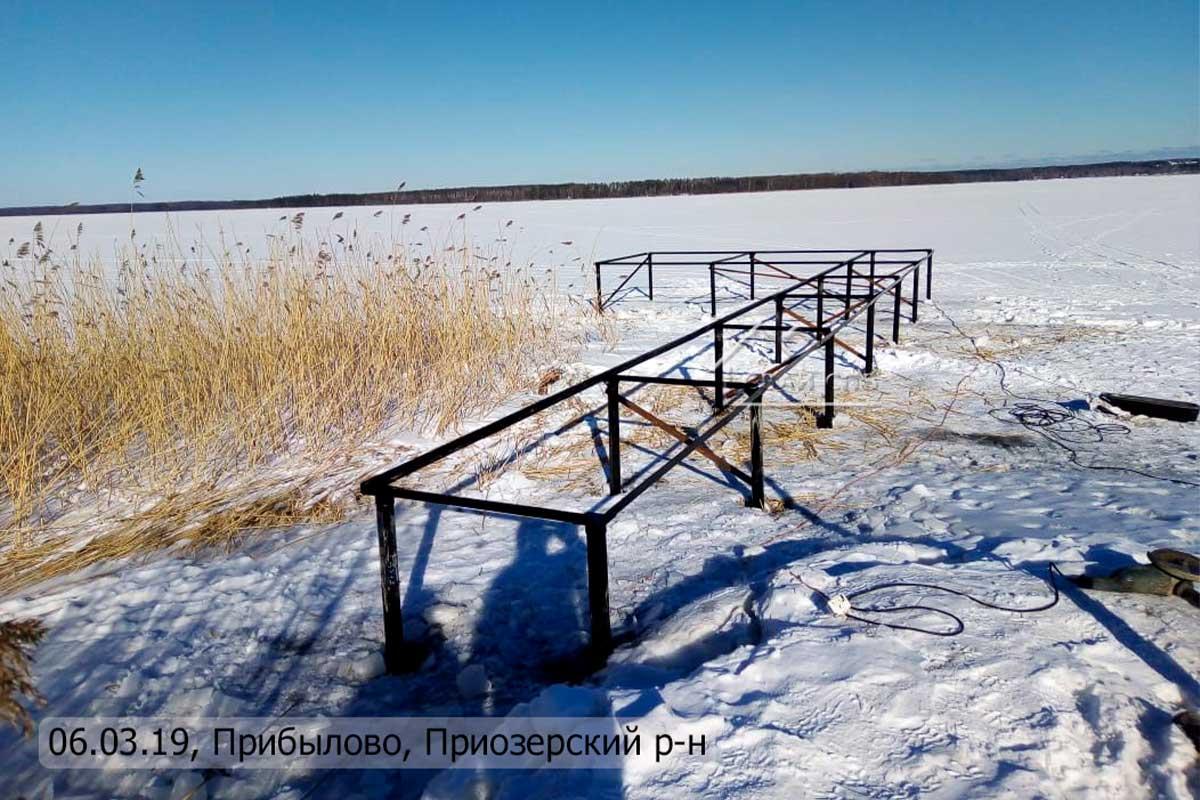 Пирс, Прибылово, Приозерский район