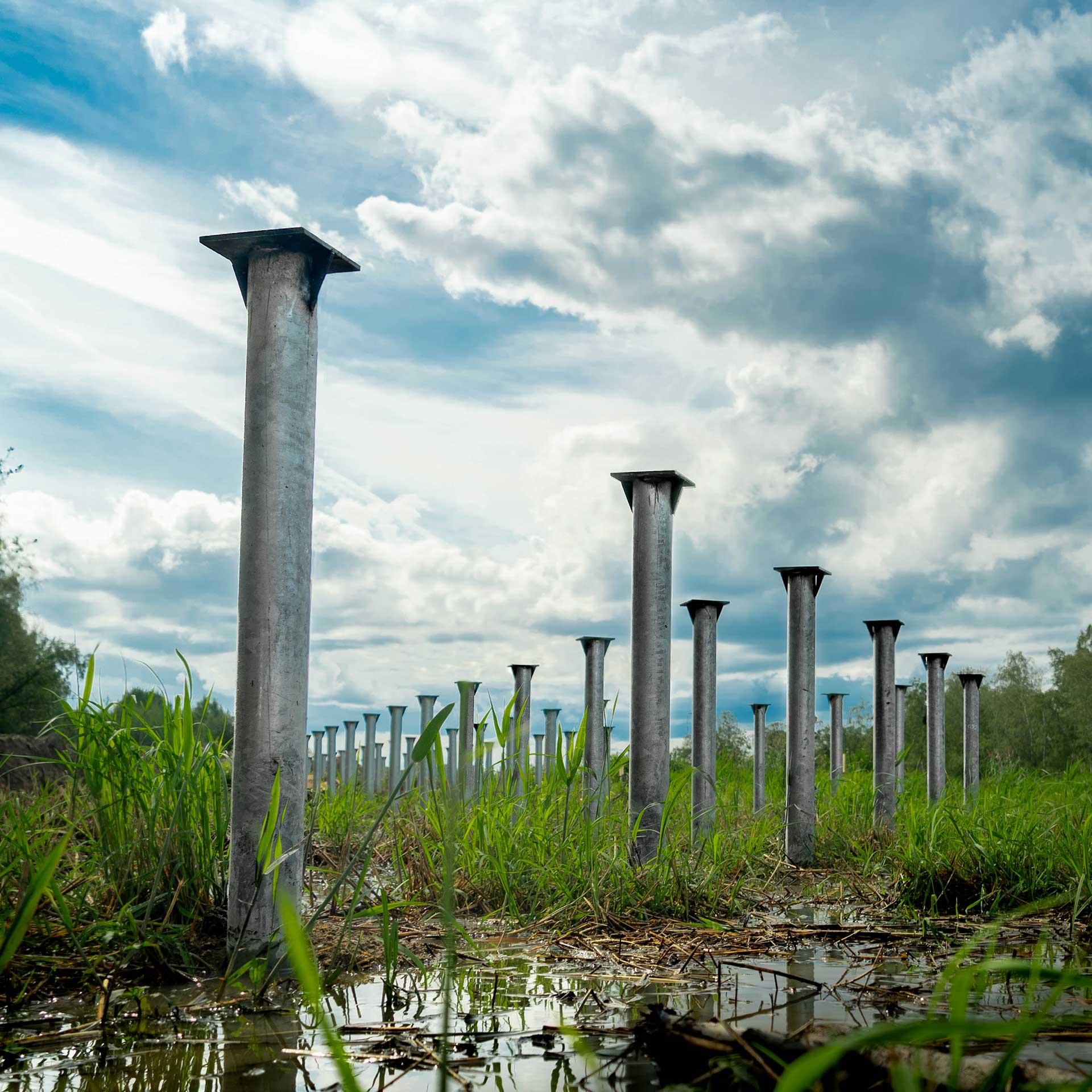 Винтовые сваи диаметром 219 мм в СПб и области